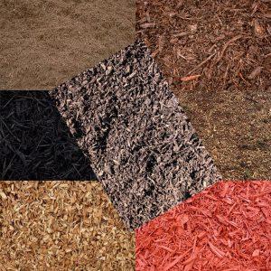 bulk mulch supply material