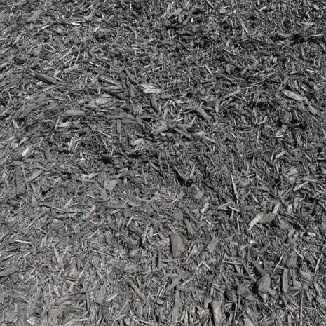 mulch double ground black